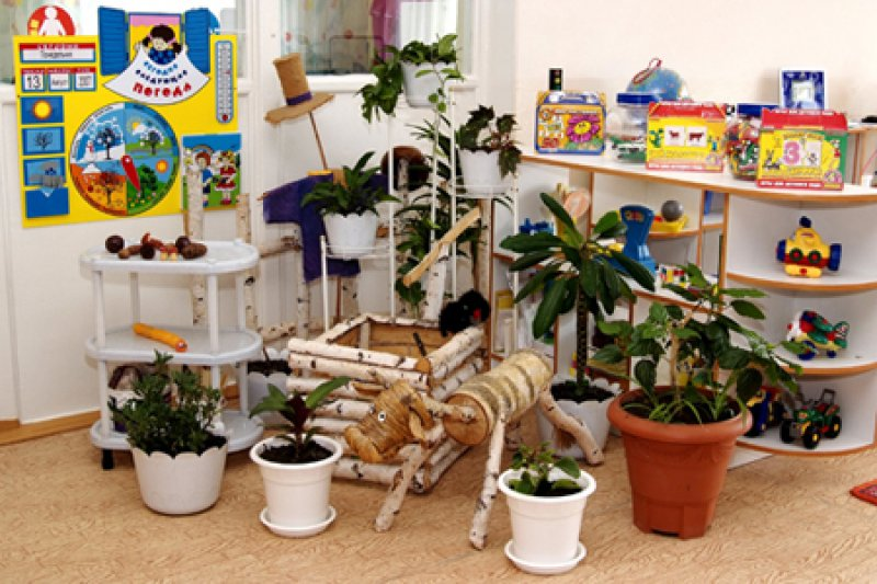 Интерьер детского сада в картинках