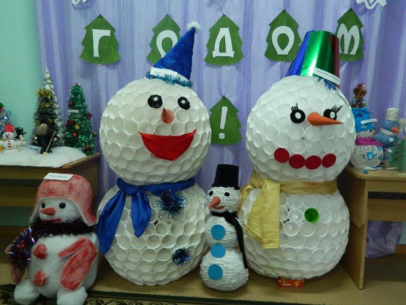 Детские поделки для конкурса на новый год