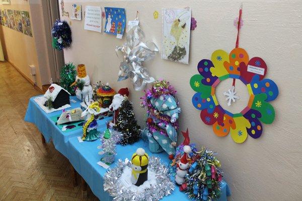 Детский конкурс поделок новый год