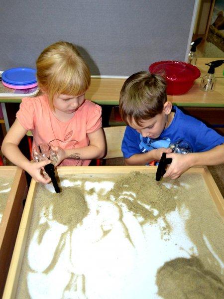Конспект игры с песком в старшей группе