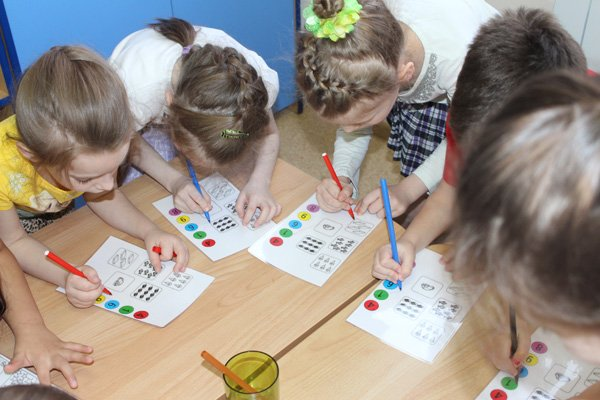 задачи по знакомству детей с действием сложения