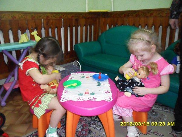 Сюжетно-ролевая игра дочки-матери в первой младшей группе ролевая игра макарена-2007
