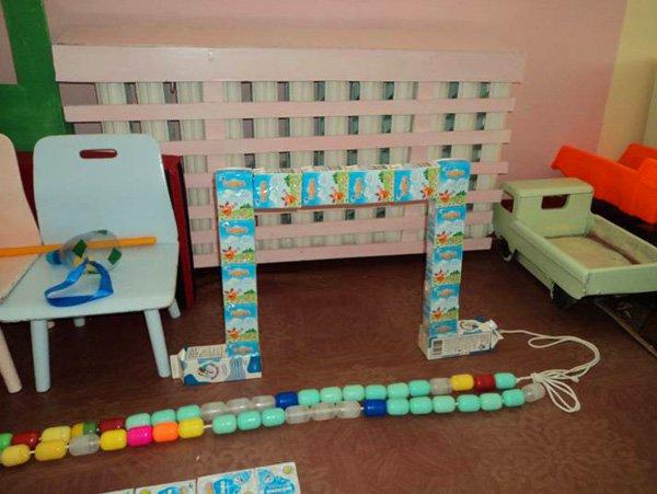 Нестандартное оборудование для детского сада своими руками фото