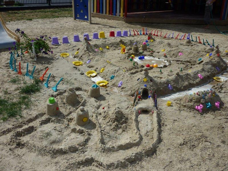Поделки для детей из песка 44