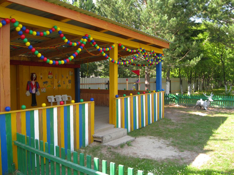 Идеи для оформления веранды в детском саду своими руками фото