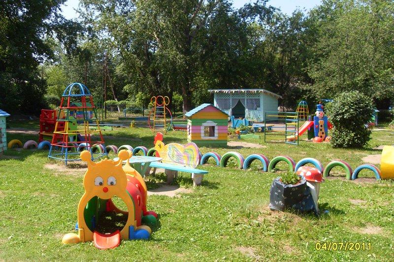 Участок детского сада своими руками: фото и идеи оформления