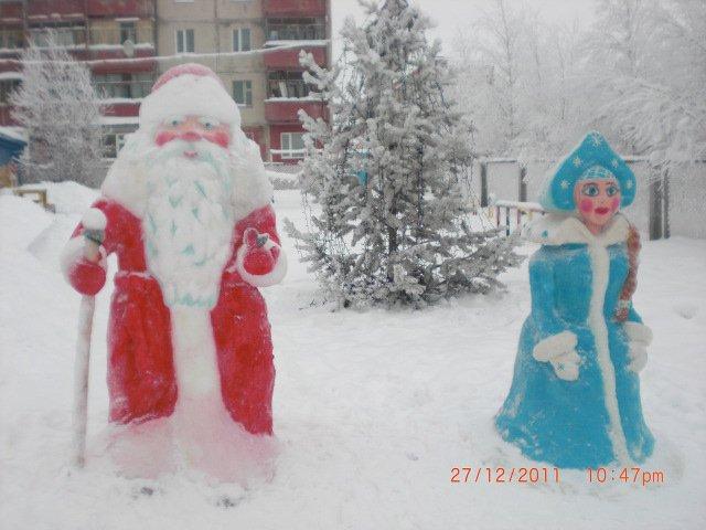 Фигурка деда мороза своими руками фото