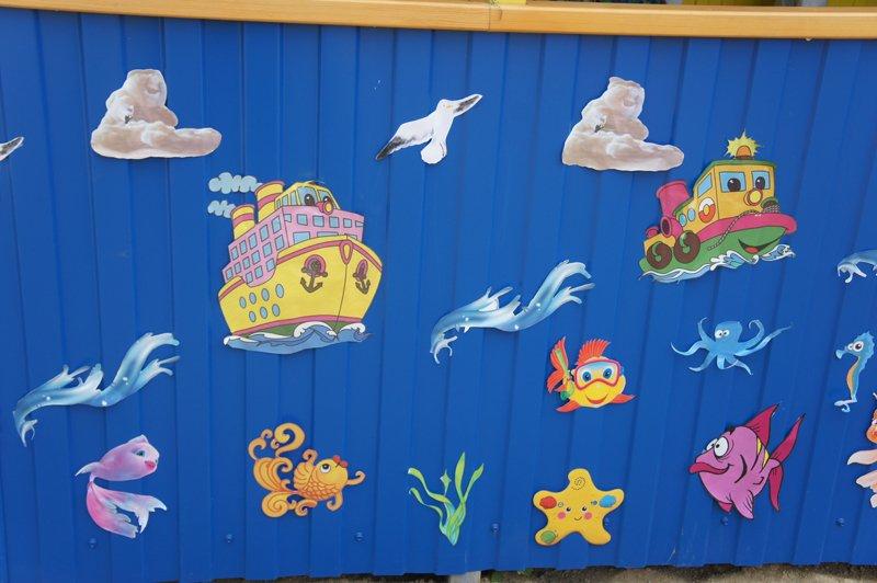Трафареты для украшения веранды в детском саду своими руками