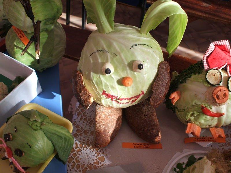 Мультфильм своими руками из овощей