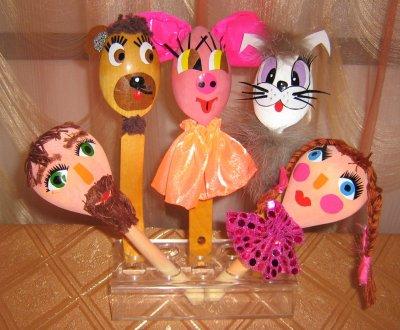 Театр кукол из дерева своими руками